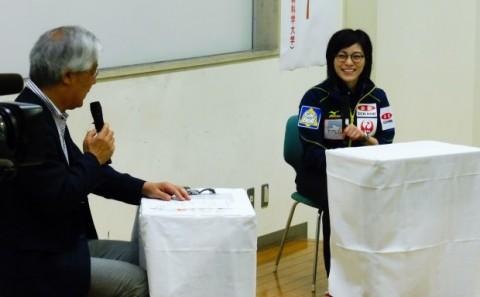 カーリング女子日本代表小笠原歩選手による「体験教室」および「トークショー」を開催しました!!