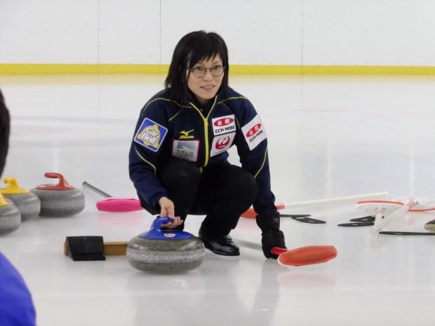 カーリング日本女子代表 小笠原 歩選手