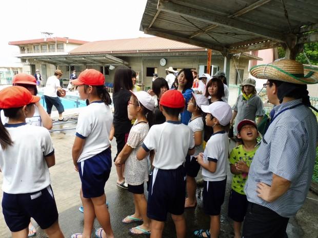 霞丘小学校プール