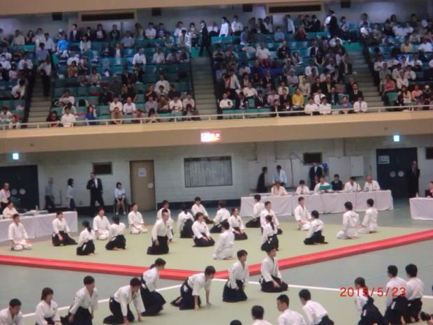 第53回全日本合気道演武大会の様子