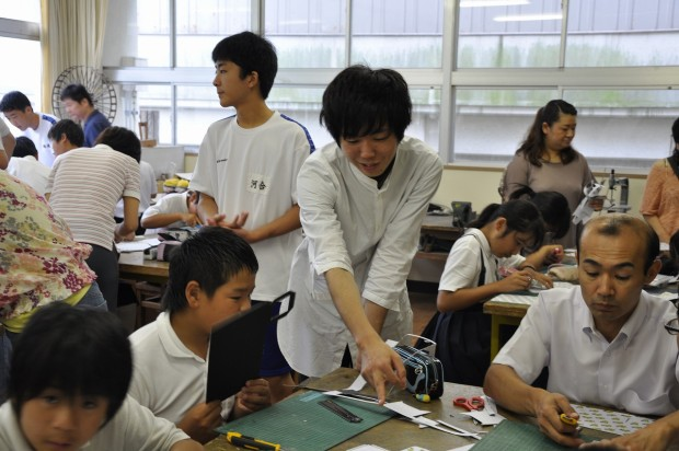 指導する学生
