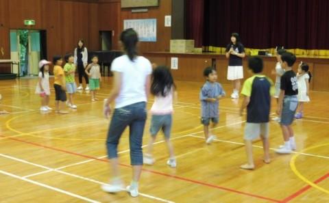 霞丘小学校 夏祭りのボランティアに参加しました
