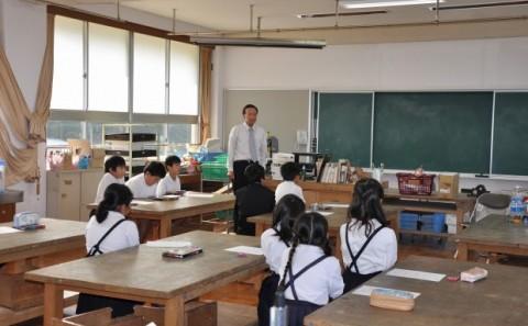 学外連携 倉敷市立連島北小学校で出張講義を実施しましたvol.2