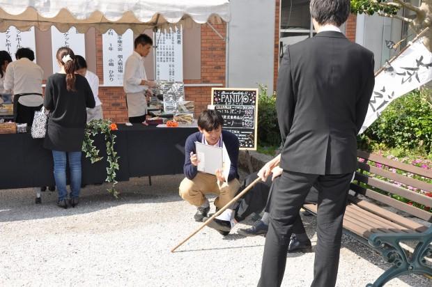 学園祭で地震・震災に関する意識調査