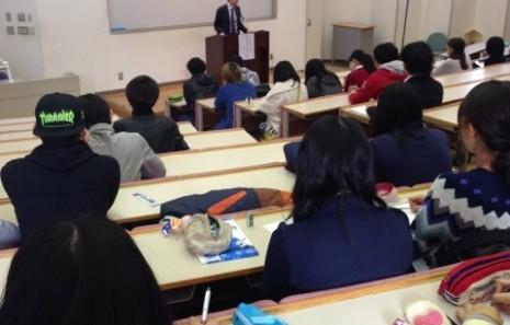 グローバル教育についての講演会を開催しました