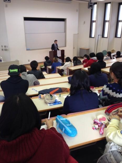 グローバル教育の講演会