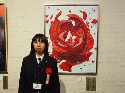 「第8回全国高校生現代アートビエンナーレ―絵画・イラスト―」展覧会開催中
