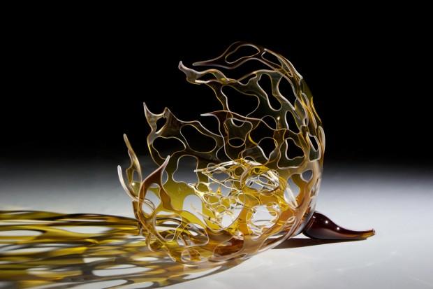 竹村雄介さんガラス作品