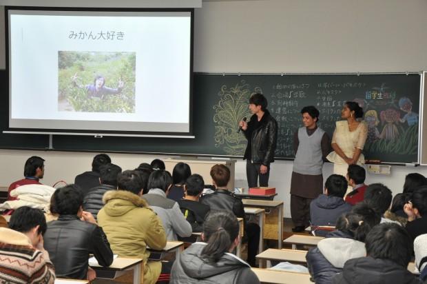 留学生別科生の発表
