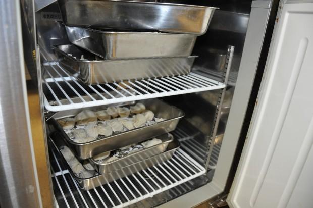 冷蔵庫の餃子