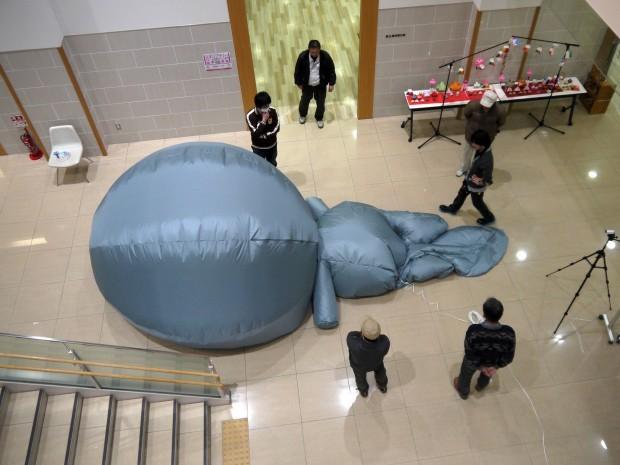 巨大なたまべえバルーン