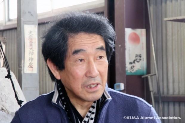 岡田輝雄氏