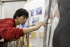 卒業生 結城唯善さんの油画がテレビドラマで使用されています