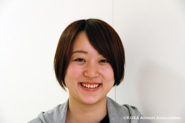 笑顔の三浦さん