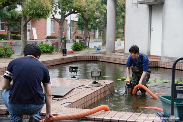 水質管理の様子