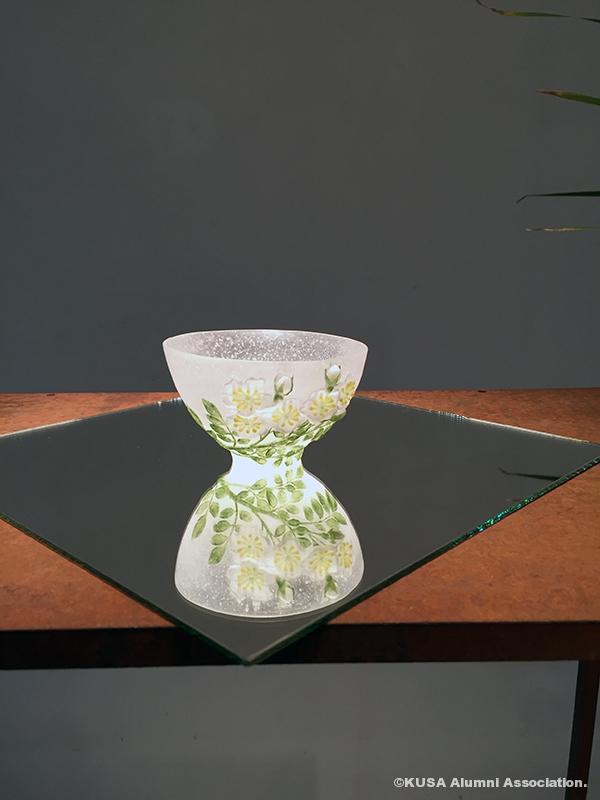 ガラス工芸作品