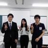 芦田ゼミ学生3人