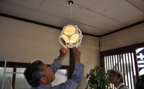 【COC事業】「まちなか研究室東町」にライトシェードが設置されました