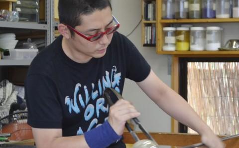 吹きガラス工房グラスタイム(ガラス工芸卒業生活躍情報vol.02)