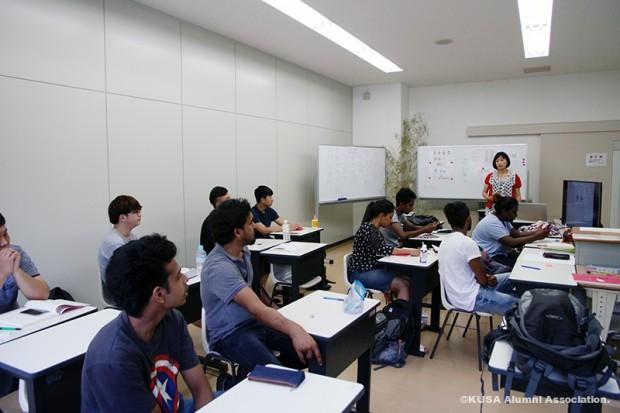 留学生別科授業風景