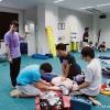 心肺停止傷病者への対応訓練