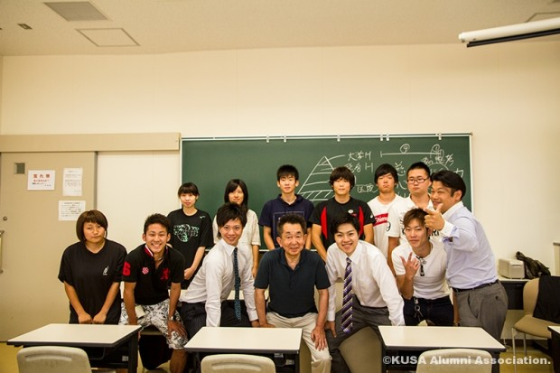 講義後の集合写真