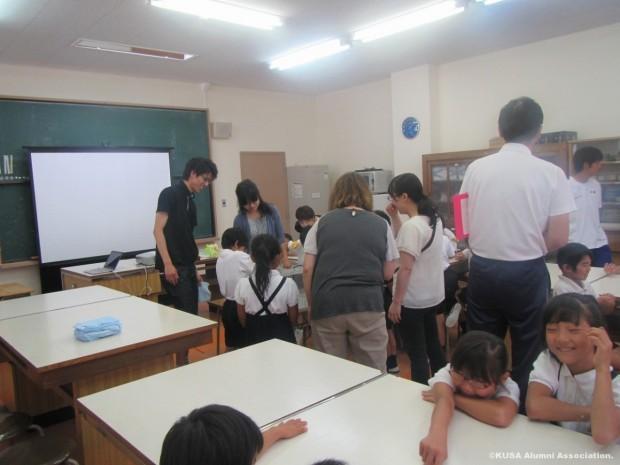 矢掛町立山田小学校教室