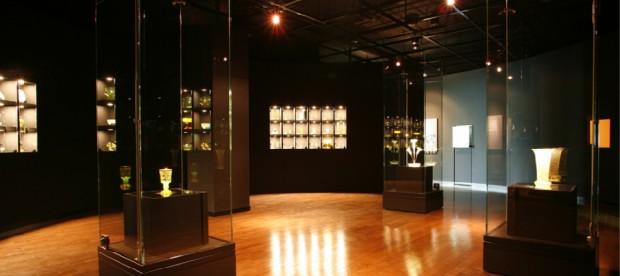 妖精の森ガラス美術館内部