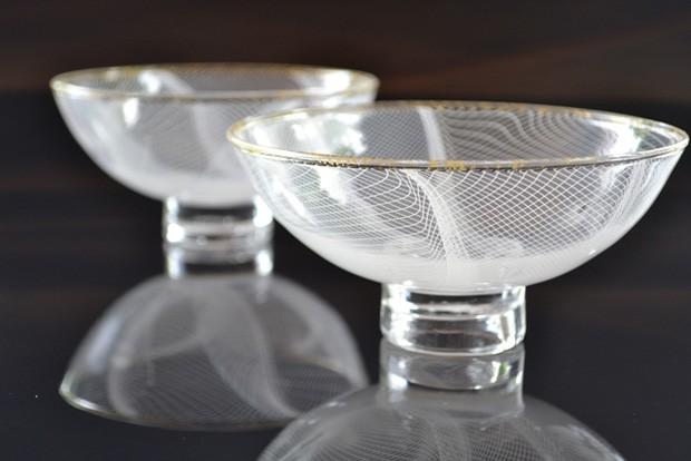 lace紋茶碗