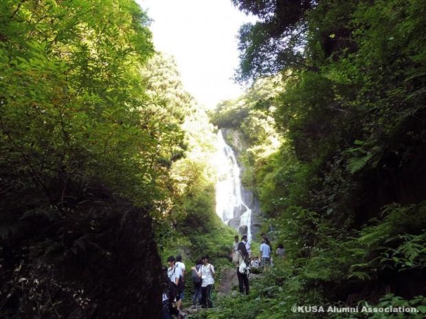 神庭の滝散策