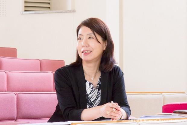 授業中の松岡教授