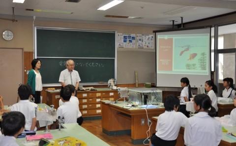 学外連携 倉敷市立西浦小学校出張講義を行いましたvol.7