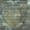 「赤と黒-鉄が関与したセラミックス表面の芸術と科学-」シンポジウムポスター