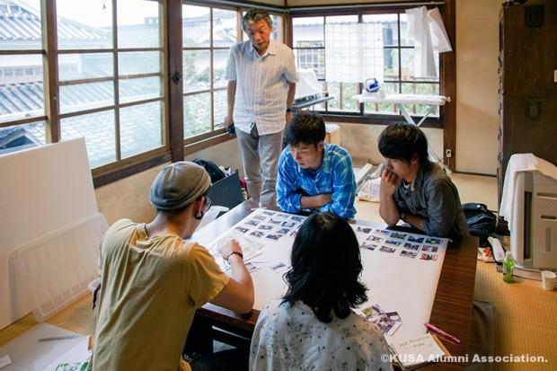 観光客の行動を観察・分析