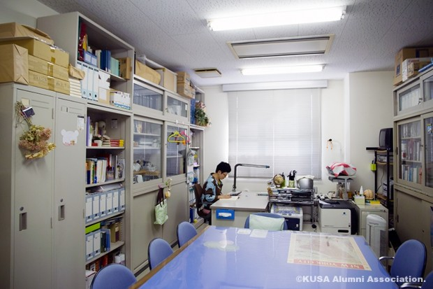 江原雅江先生の研究室
