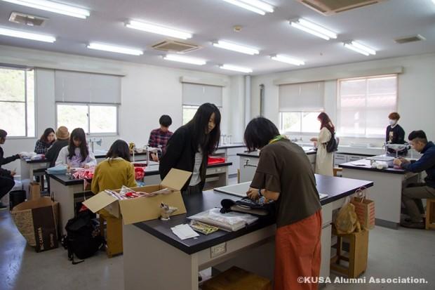 デザイン演習Ⅳの講義室