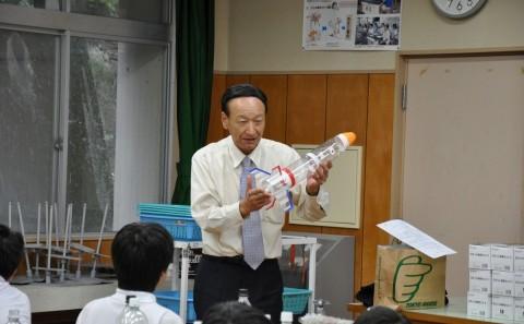 学外連携 倉敷市立西浦小学校出張講義を行いましたvol.8