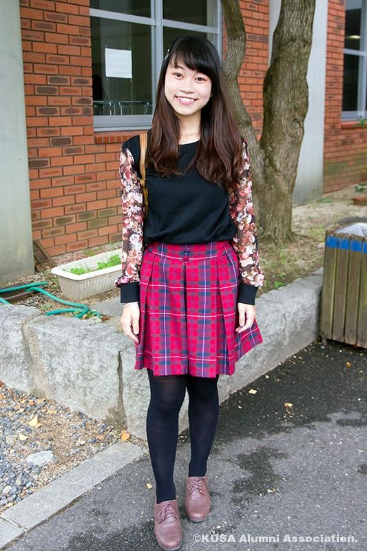 AKB48っぽい服装の戴 文心さん