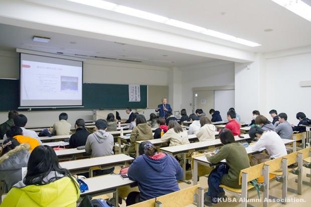 後期開講科目「倉敷産業研究/岡山ビジネス研究」