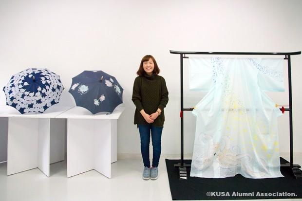芸術学部デザイン芸術学科 4年次生 岡村 美咲さん