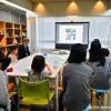小学生向けの現代アート理解のための創作童話の様子