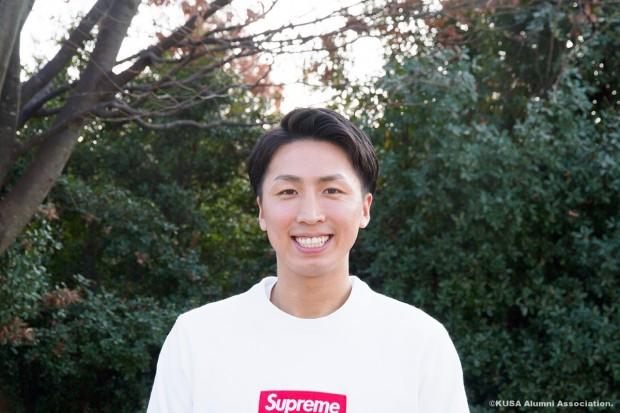 笑顔の谷口昌聡さん