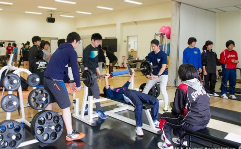 倉敷中央高等学校の生徒の皆様が体験授業に訪れました。