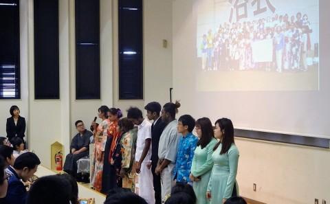 留学生別科「日本語学習成果発表会」について