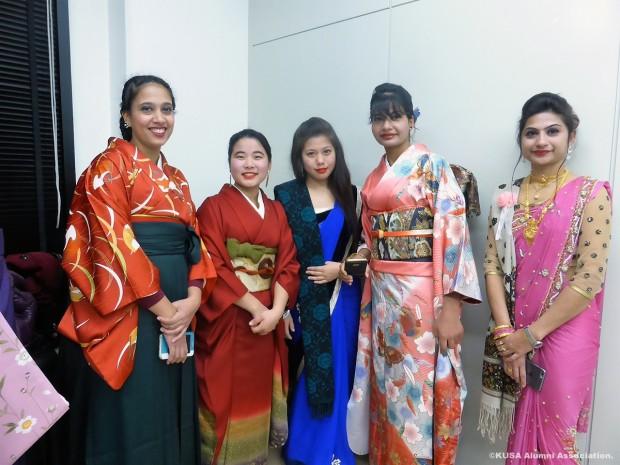 女性留学生