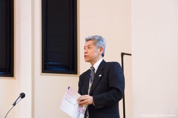 酒類業調整官 川田富士夫氏