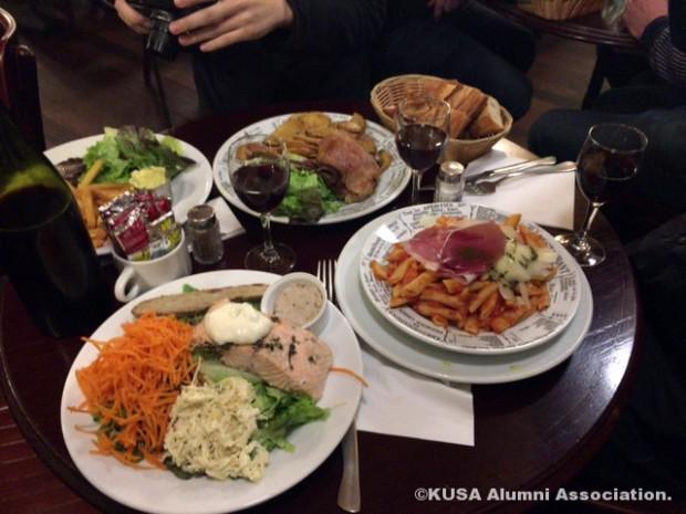 パリの食事
