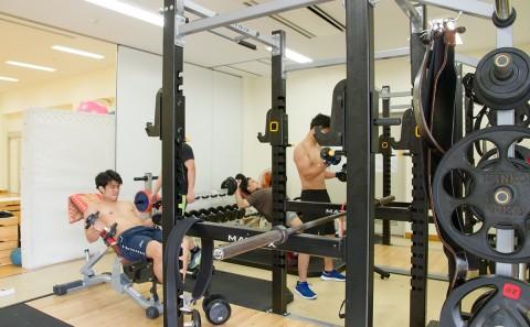 24号館(健康科学科実習棟)の設備が新しくなりました。