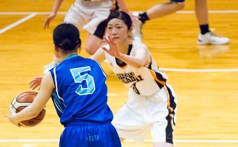 女子バスケットボール部が中国地区で優勝しました。