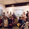 デザイン芸術学科日本画ゼミの学生さん達